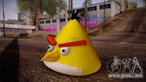 Yellow Bird from Angry Birds para GTA San Andreas