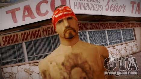 Fresno Buldogs 14 Skin 1 para GTA San Andreas tercera pantalla
