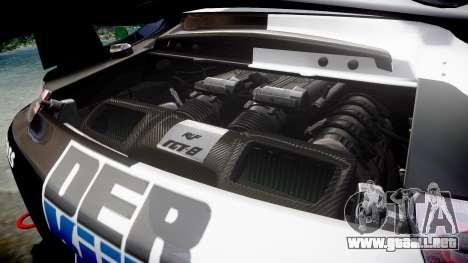 RUF RGT-8 GT3 [RIV] Der Kuhler para GTA 4 vista lateral