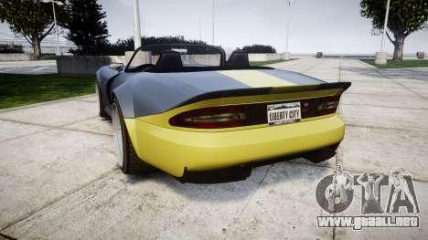Bravado Banshee ESP para GTA 4 Vista posterior izquierda