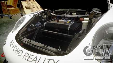 RUF RGT-8 GT3 [RIV] Project CARS para GTA 4 vista interior