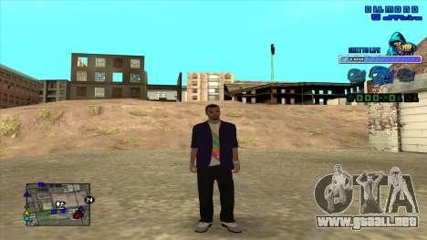 C-HUD Ghetto Life para GTA San Andreas segunda pantalla