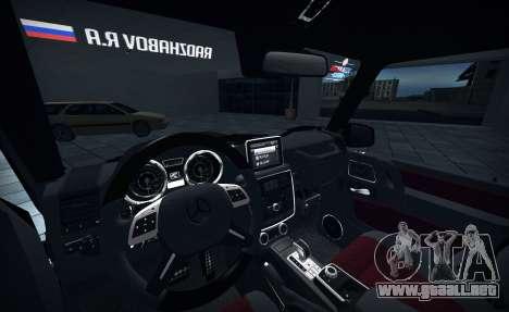 Brabus 700 para la visión correcta GTA San Andreas