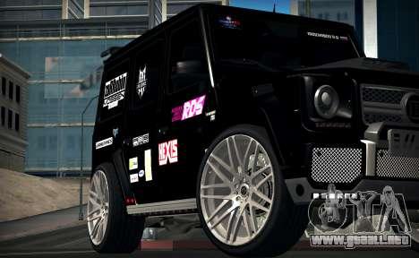 Brabus 700 para GTA San Andreas left