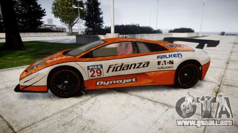 Lamborghini Murcielago LP640 R-GT para GTA 4 left