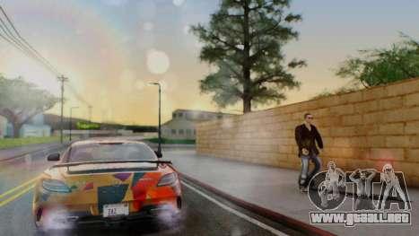 Santo ENB v4 Reffix para GTA San Andreas segunda pantalla