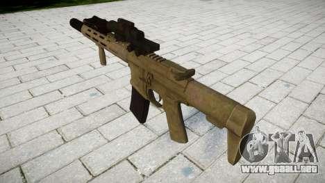 Rifle de asalto AAC Tejón de Miel [Remake] tar para GTA 4 segundos de pantalla