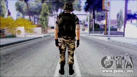 Hecu Soldier 1 from Half-Life 2 para GTA San Andreas segunda pantalla