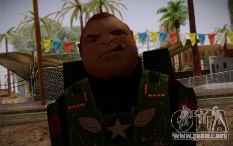 Space Ranger from GTA 5 v2 para GTA San Andreas tercera pantalla