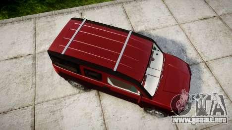 Honda Element 2005 para GTA 4 visión correcta