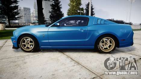 Ford Mustang Shelby GT500 2013 para GTA 4 left