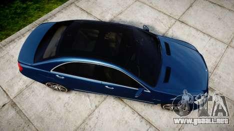 Mercedes-Benz S65 W221 AMG v2.0 rims2 para GTA 4 visión correcta