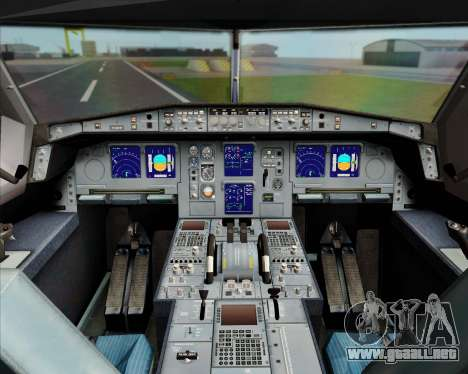Airbus A330-300 Turkish Airlines para GTA San Andreas interior