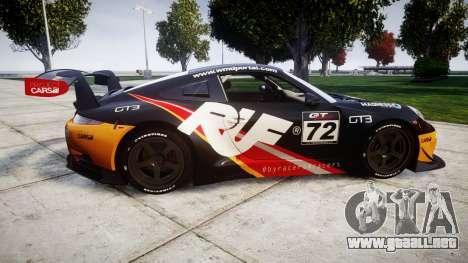 RUF RGT-8 GT3 [RIV] RUF para GTA 4 left