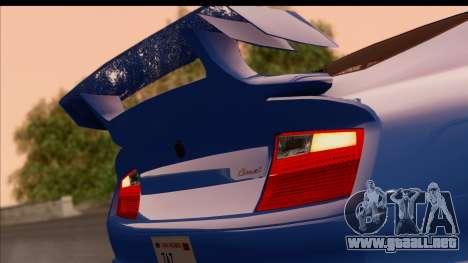 Comet from GTA 5 para GTA San Andreas vista hacia atrás