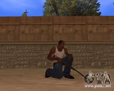 Jaguar Weapon pack para GTA San Andreas tercera pantalla