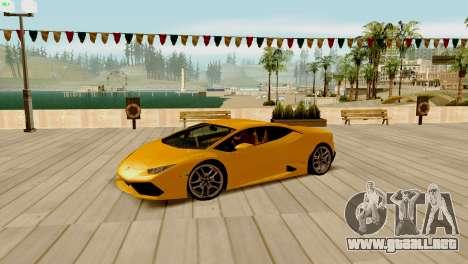 ENB para los débiles y medianas PC SA:MP para GTA San Andreas undécima de pantalla