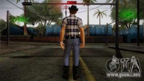 Gedimas Edward Skin HD para GTA San Andreas segunda pantalla
