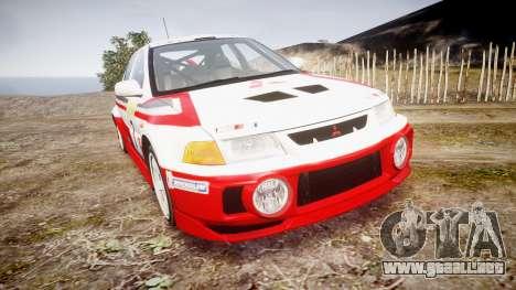 Mitsubishi Lancer Evolution VI Rally Edition para GTA 4