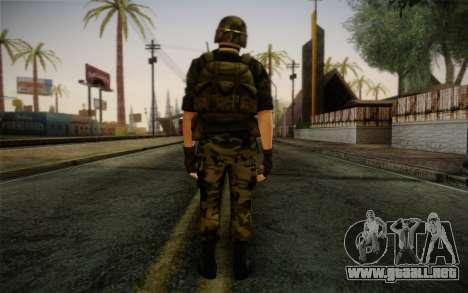 Hecu Soldier 3 from Half-Life 2 para GTA San Andreas segunda pantalla