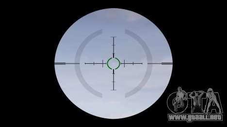 Automático de la carabina M4 Señores Táctica de  para GTA 4 tercera pantalla