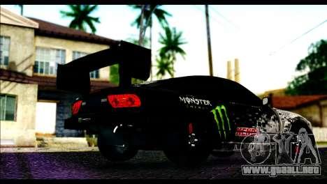 Nissan 180SX Monster Energy Spoiler para GTA San Andreas left