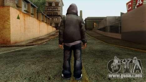 GTA 4 Skin 16 para GTA San Andreas segunda pantalla