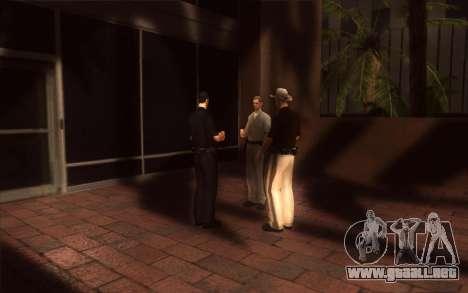 El renacimiento de la LVPD para GTA San Andreas quinta pantalla