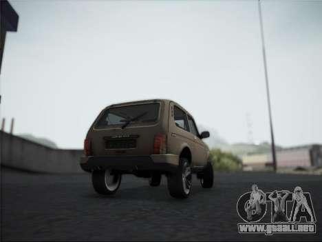 Lada Urdan para la visión correcta GTA San Andreas