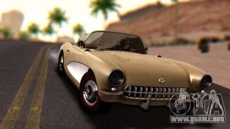 Chevrolet Corvette C1 1962 Dirt para la visión correcta GTA San Andreas