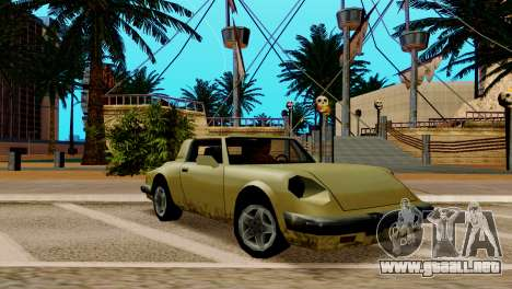 ENB para los débiles y medianas PC SA:MP para GTA San Andreas séptima pantalla