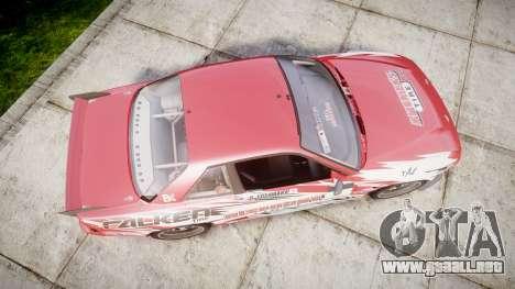 Nissan 240SX S13 D. Yoshihara para GTA 4 visión correcta
