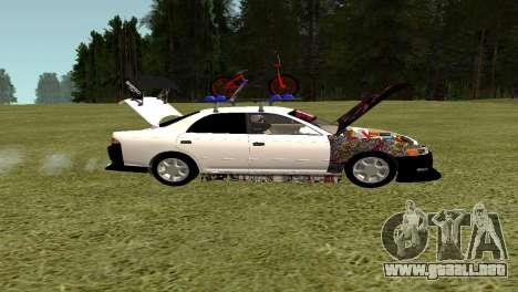 Toyota Mark 2 para visión interna GTA San Andreas