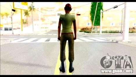 Ginos Ped 35 para GTA San Andreas segunda pantalla