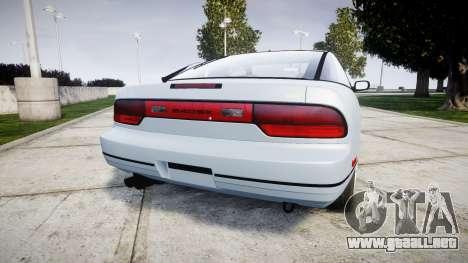 Nissan 240SX 1994 [EPM] para GTA 4 Vista posterior izquierda