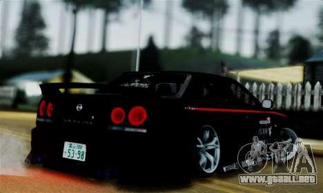 Nissan Skyline para GTA San Andreas left