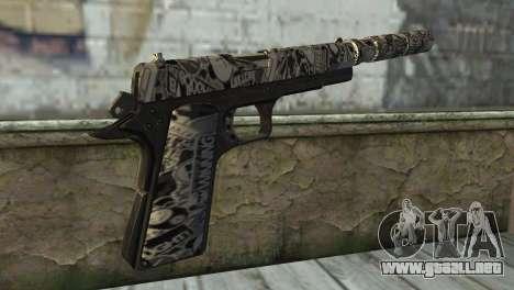 Nueva Pistola con un Silenciador para GTA San Andreas segunda pantalla