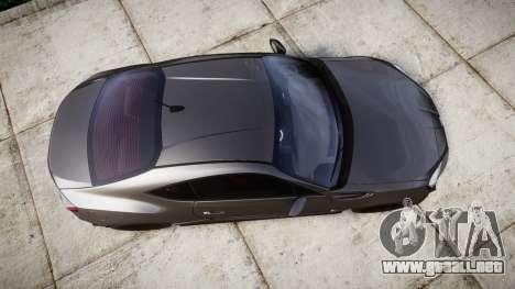 Subaru BRZ 2011 para GTA 4 visión correcta