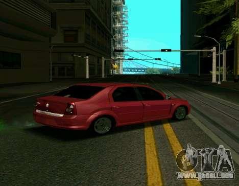 Renault Logan para GTA San Andreas left