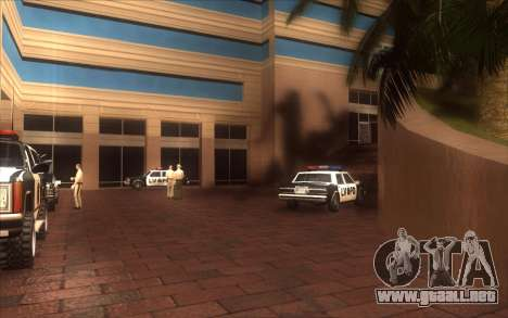 El renacimiento de la LVPD para GTA San Andreas sucesivamente de pantalla