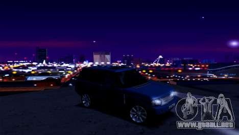 ENB para los débiles y medianas PC SA:MP para GTA San Andreas sucesivamente de pantalla