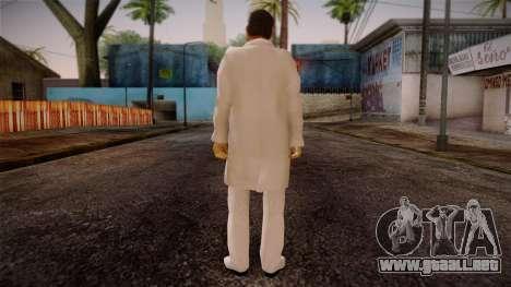 Gedimas Yakuza Boss Skin HD para GTA San Andreas segunda pantalla