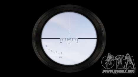Rifle de asalto AAC Tejón de Miel [Remake] tar para GTA 4 tercera pantalla