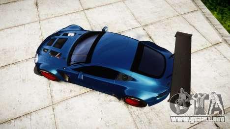 Aston Martin V12 Vantage GT3 2012 para GTA 4 visión correcta