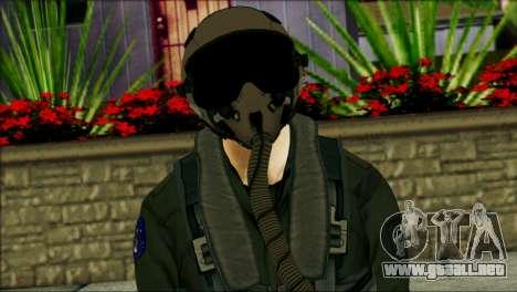 USA Jet Pilot from Battlefield 4 para GTA San Andreas tercera pantalla