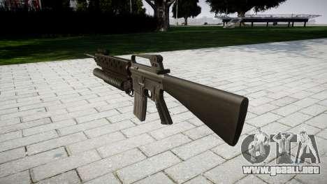 Rifle M16A2 M203 sight4 para GTA 4 segundos de pantalla