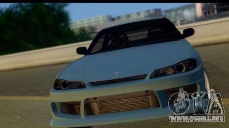Nissan 180SX LF Silvia S15 para GTA San Andreas left