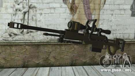 Piers Nivans Rifle from Resident Evil 6 para GTA San Andreas