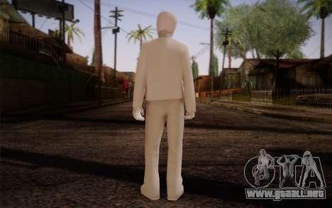 Ginos Ped 45 para GTA San Andreas segunda pantalla