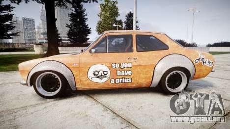 Ford Escort Mk1 Rust Rod v2.0 para GTA 4 left